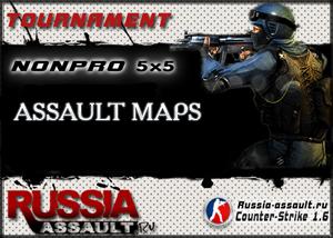 Tournament Assault map 5x5